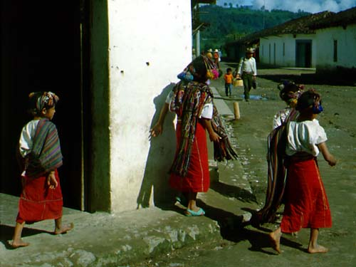 Guatemalan Indigenous Costume In Photos